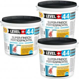 60 kg Fertigspachtel Super Finish Spachtel Masse Q4 PERFEKT WEISS Küche Bad RM44