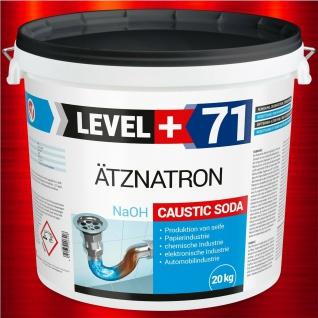 20 kg Ätznatron Natriumhydroxid NaOH Entfetter Reiniger kaustisches Soda RM71