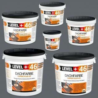 Dachfarbe Steingrau 1, 5 bis 25kg Sockelfarbe flüssige Polymermembran LEVEL+ RM46