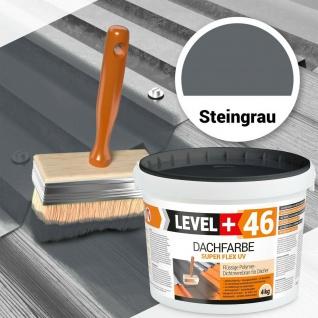 4kg Steingrau Dachfarbe Super Flex Polymermembran HQ Level+ RM46
