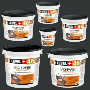 Dachfarbe Anthrazit 1, 5-25kg flexibler Dachsanierung Dachlack Sockelfarbe RM46