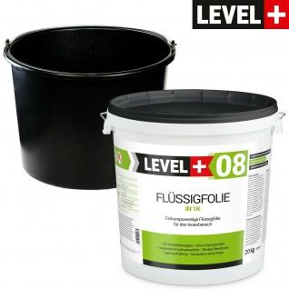 20kg Flüssigfolie + kostenlos 20L Mörteleimer PVC Abdichtung SET403