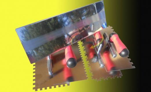 Fliesen Fugbox 15 teilig Waschset Waschbox Zahnkelle Fugbrett Glattkelle Schwamm - Vorschau 3