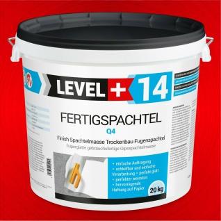 20kg Fertigspachtel Spachtel Masse Finish Fertig Q1 - Q4 Glätt Flächen Füll RM14