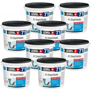 160kg Caustic Soda Natriumhydroxid Ätznatron Rohrreiniger Soda LEVEL+ RM71