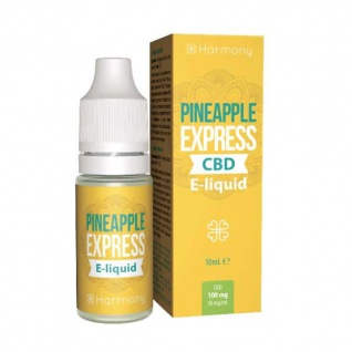 Harmony - CBD E-Liquid 1 % (100 mg) - 10 ml Pineapple