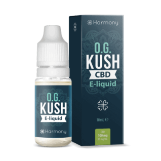Harmony - CBD E-Liquid 6 % (600 mg) - 10 ml OG Kush