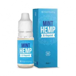 Harmony - CBD E-Liquid 1 % (100 mg) - 10 ml Minze
