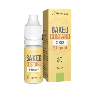 Harmony - CBD E-Liquid 6 % (600 mg) - 10 ml Custar