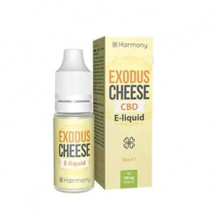 Harmony - CBD E-Liquid 3 % (300 mg) - 10 ml Exodus Cheese
