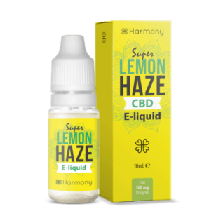 Harmony - CBD E-Liquid 1 % (100 mg) - 10 ml Lemon