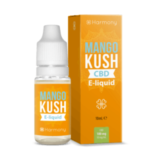 Harmony - CBD E-Liquid 1 % (100 mg) - 10 ml Mango