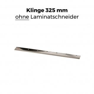 Ersatz-Klinge für die BAUTEC Laminatschneider Modell 1 und Modell 2 PLC 330H | gehärteter Stahl | extra scharf geschliffen | 325 mm Schnittbreite