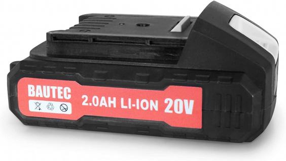 BAUTEC Li-Ion Akku 2.0 Ah 20V für die