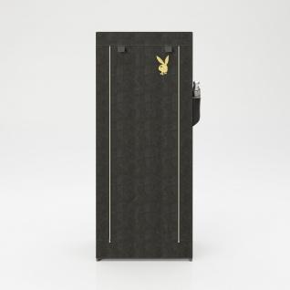 """PLAYBOY - Textilschrank """" TRACY"""" mit 1 Einlegeboden und 1 Kleiderstange, Reissverschluss, Retro-Design - Vorschau 3"""