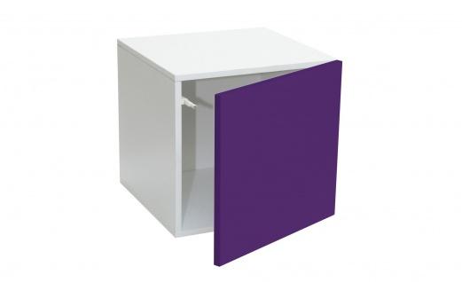 Stor' It - Prana Türcontainer, Regaleinsatz mit 1 Tür mit Hochglanz-Front und Push-Open-Funktion, 34x34x34cm - Vorschau 2