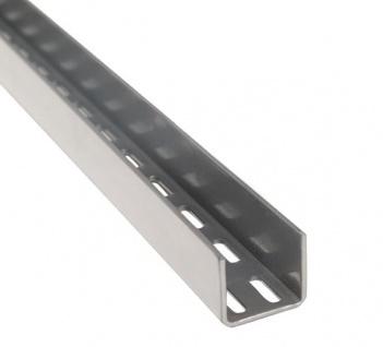 STAXX-System - vertikale Wandhalterung aus Metall, 112cm lang, in silber oder weiss