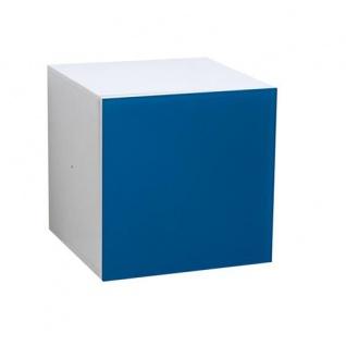 Atlanta - Türcontainer mit 1 Tür mit Push-Open-Funktion und Glasfront, in verschiedenen Farben