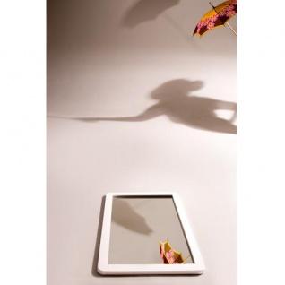 Prana - Spiegel, Wandspiegel mit Rahmen, abgerundete Kanten, weiss hochglanz - Vorschau 2