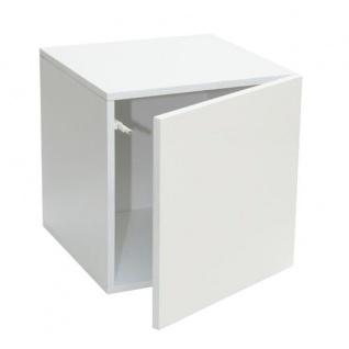 Stor' It - Prana Türcontainer, Regaleinsatz mit 1 Tür mit Hochglanz-Front und Push-Open-Funktion, 34x34x34cm - Vorschau 3