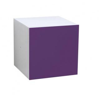Atlanta - Türcontainer mit 1 Tür mit Push-Open-Funktion und Glasfront, in verschiedenen Farben - Vorschau 3