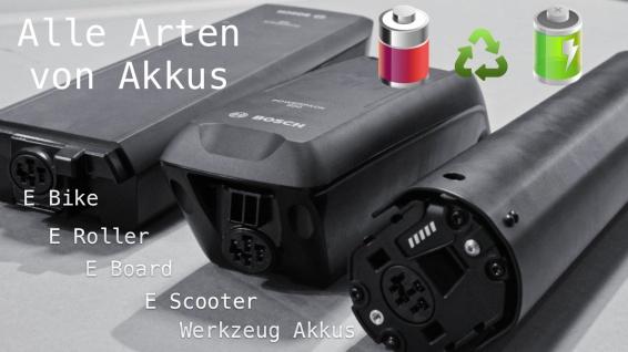 Bosch Power Pack Akkureparatur Zellentausch E-Bike Akku36V 14Ah 500Wh - Vorschau 3