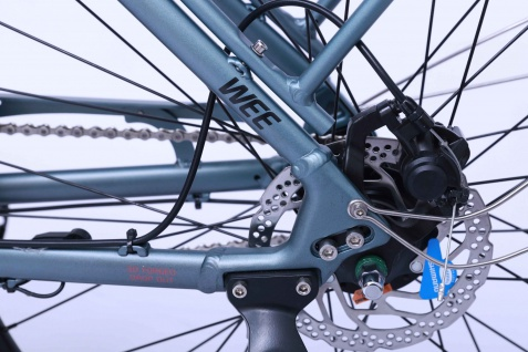 Marktneuheit 2021 Carnelian CB E-Bike Elektro Fahrrad bis zu 150 km Pedelec 28 Zoll 25km/h Elektrorad Citybike - Vorschau 5