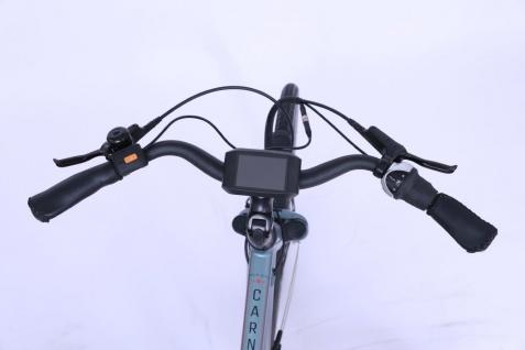 Marktneuheit 2021 Carnelian CB E-Bike Elektro Fahrrad bis zu 150 km Pedelec 28 Zoll 25km/h Elektrorad Citybike - Vorschau 3
