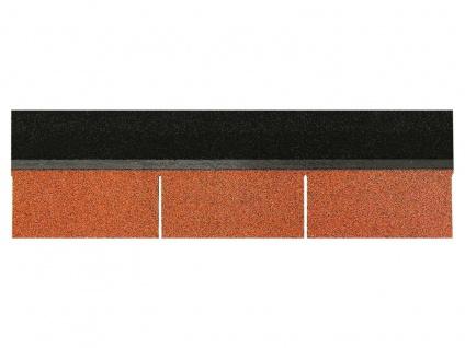 Dachschindeln Rechteck Form 1 Stk Ziegelrot Schindeln Dachpappe Bitumen