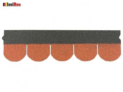 Dachschindeln Biberschindeln 1 Stk Ziegelrot Schindeln Dachpappe Bitumen