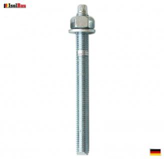 Ankerstangen M12 x 130 Gewindestange 1 St. Verbundanker + Mutter Verbundmörtel