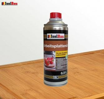 Arbeitsplattenöl Möbelöl Pflegeöl 0.5 L Holzschutz Hartöl Holzöl Möbel Naturöl