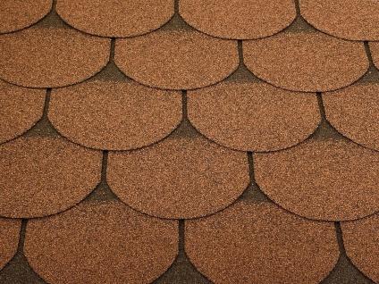Dachschindeln 2m? Biberschindeln Braun (14 Stk) Schindeln Dachpappe Bitumen