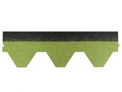 Dachschindeln Hexagonal Dreieck Form 1 Stk Grün Schindeln Dachpappe Bitumen