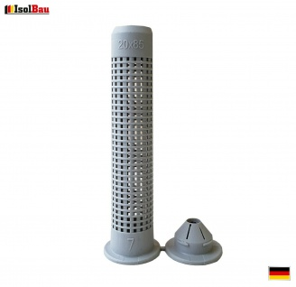 Siebhülsen 1 Stk Siebhülse 20x85 für Bolzen Ankerstangen M12 - M16 Verbundmörtel