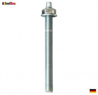 Ankerstangen M12 x 160 Gewindestange 1 St. Verbundanker + Mutter Verbundmörtel