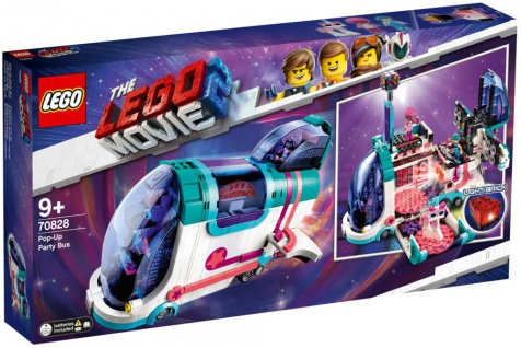 LEGO The Lego Movie 2 Pop-Up Party Bus 70828