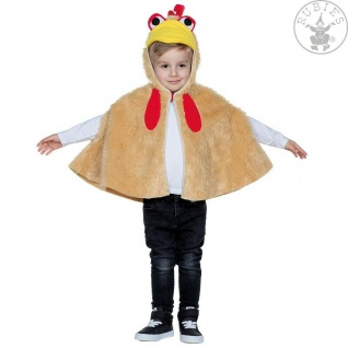 Rubies 12222 - Hahn Kinder Kostüm * Huhn * Karneval * Halloween * 92 - 116 *CAPE