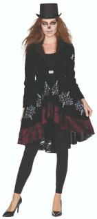 Rubies 13508 - Voodoo Jacke, Samtoptik, Damen Halloween Kostüm, Gr. 36 - 48