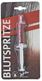 Jofrika Cosmetics 718110 - Blutspritze 5ml, Kunstblut, Halloween, Theater Blut