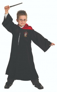 Rubies 3883574 Harry Potter Robe Deluxe, S, M, L oder 3640872 LS 9-10, 11-12 Jahre