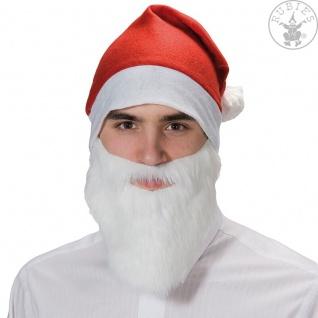 Rubies Weihnachtsmann, Nikolaus, Mütze oder Bart, Santa Claus, Bommelmütze