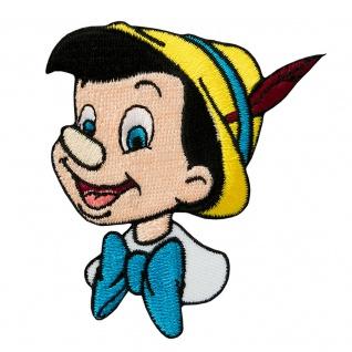 Mono Quick 16049 Pinocchio Kopf Applikation, Bügelbild Aufnäher Disney Klassiker