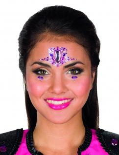 Jofrika Cosmetics 713301 - Festival Bindi: Flamingo Sparkle, Selbstklebend