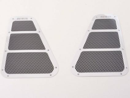 Auto Lufteinlass Aufkleber 2er Set ca. 180 x 130 mm * universal * FK-Automotive
