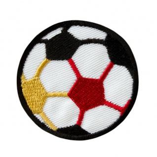 04080 Fußball WM EM Deutschland Applikation, Flicken, Aufbügeln, Aufnähen