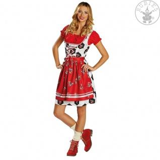 Rubies 380308 DAMEN Kostüm * 1. FC Köln Dirndl * Oktoberfest, Tracht, Fan * Wiesn