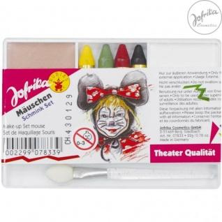 Jofrika Cosmetics * 707833 - Schminkset Mäuschen * Schminke Karneval * MAUS