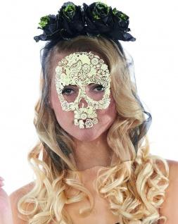 Mottoland 43301 - La Catrina Haarreif und Maske * Zombie * Skelett * LA CATRINA