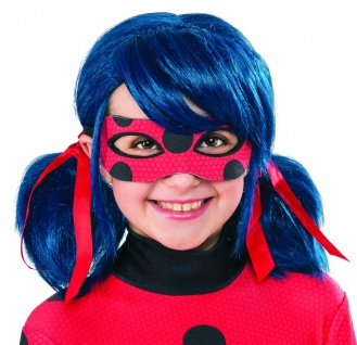 Rubies 3300134 Miraculous Ladybug Classic - Gr.XS-XL, Kinder Kostüm oder Perücke - Vorschau 2